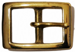 25mm Solid Brass Belt Buckle. Code BUC022